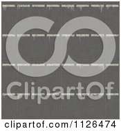 Clipart Of A Seamless Industrial White And Metal Plate Floor Texture Background Pattern Royalty Free CGI Illustration