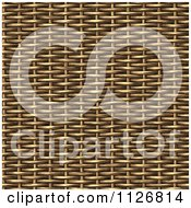 Clipart Of A Seamless 3d Basket Wicker Weave Texture Background Pattern Royalty Free CGI Illustration by Ralf61