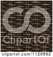 Clipart Of A Seamless 3d Basket Wicker Weave Texture Background Pattern Royalty Free CGI Illustration