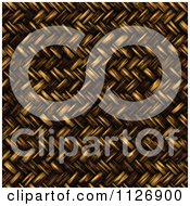 Clipart Of A Seamless 3d Twill Wicker Basket Weave Texture Background Pattern Royalty Free CGI Illustration by Ralf61