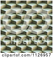 Clipart Of A Seamless 3d Geometric Texture Background Pattern Royalty Free CGI Illustration