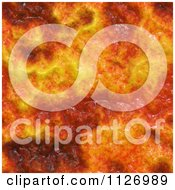 Clipart Of A Seamless Fiery Texture Background Pattern Royalty Free CGI Illustration