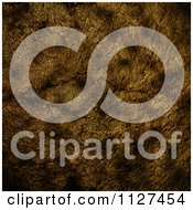 Clipart Of A Dark Golden Cracked Stone Texture Royalty Free Illustration by elaineitalia