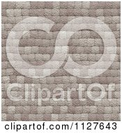 Clipart Of A Seamless Paver Stone Rock Texture Background Pattern Royalty Free CGI Illustration
