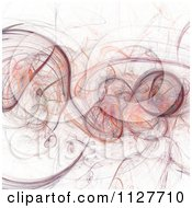 Clipart Of An Abstract Smokey Background Royalty Free Illustration