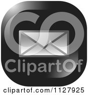 Clipart Of A Letter Envelope Email Icon Royalty Free Vector Illustration