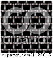 Clipart Of A Shutter Texture Background Royalty Free Vector Illustration
