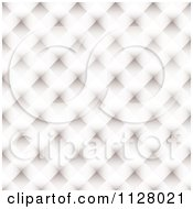 Clipart Of A White Lattice Texture Background Royalty Free Vector Illustration