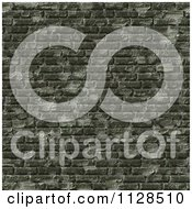 Clipart Of A Seamless Green Cobble Stone Brick Texture Background Pattern Royalty Free CGI Illustration by Ralf61