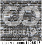 Clipart Of A Seamless Cobble Stone Brick Texture Background Pattern Royalty Free CGI Illustration by Ralf61