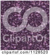 Clipart Of A Seamless Purple Cobble Stone Brick Texture Background Pattern Royalty Free CGI Illustration by Ralf61