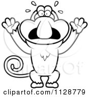 Mouse Cartoon Stock Images, Royalty-Free Images & Vectors ...  |Scared Monkey Animation