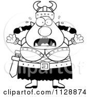 Black And White Chubby Ogre Woman With Open Arms