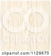 Clipart Of A Seamless Light Colored Wood Pattern Royalty Free CGI Illustration