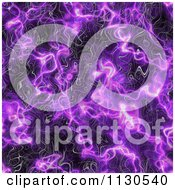 Clipart Of A Seamless Purple Alien Electrical Storm Texture Background Pattern 8 Royalty Free CGI Illustration