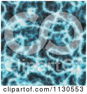 Clipart Of A Seamless Blue Alien Electrical Storm Texture Background Pattern 11 Royalty Free CGI Illustration