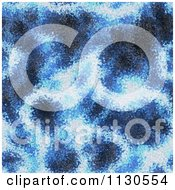 Clipart Of A Seamless Blue Alien Electrical Storm Texture Background Pattern 10 Royalty Free CGI Illustration