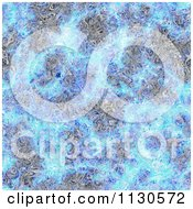 Clipart Of A Seamless Blue Alien Electrical Storm Texture Background Pattern 8 Royalty Free CGI Illustration by Ralf61