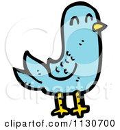 Blue Pigeon