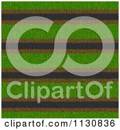 Clipart Of A Seamless Stripes Knit Fabric Texture Background Pattern 3 Royalty Free CGI Illustration