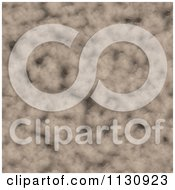 Clipart Of A Seamless Melting Brown Snow Texture Background Pattern 4 Royalty Free CGI Illustration