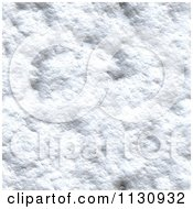 Clipart Of A Seamless Melting Snow Texture Background Pattern 5 Royalty Free CGI Illustration