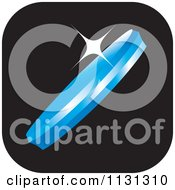 Clipart Of An Eye Lens Icon 1 Royalty Free Vector Illustration