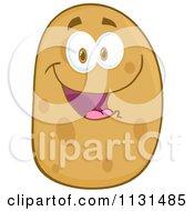 Happy Potato Mascot