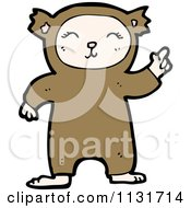Cartoon Of A Kid In A Bear Costume Royalty Free Vector Clipart by lineartestpilot