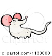 Cartoon Of A Mouse Royalty Free Vector Clipart