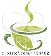 Cup Of Green Tea Or Coffee 2