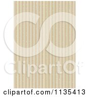Clipart Of A Vertical Cardboard Background Royalty Free Vector Illustration
