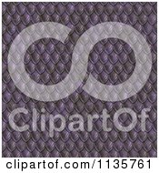 Clipart Of A Seamless Purple Scales Texture Background Pattern Royalty Free CGI Illustration