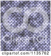 Clipart Of A Seamless Purple Scales Texture Background Pattern Version 2 Royalty Free CGI Illustration