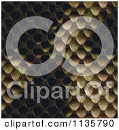 Clipart Of A Seamless Snake Skin Scales Texture Background Pattern Version 8 Royalty Free CGI Illustration by Ralf61