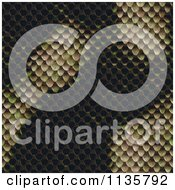 Clipart Of A Seamless Snake Skin Scales Texture Background Pattern Version 10 Royalty Free CGI Illustration