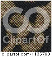 Clipart Of A Seamless Snake Skin Scales Texture Background Pattern Version 11 Royalty Free CGI Illustration by Ralf61