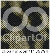 Clipart Of A Seamless Snake Skin Scales Texture Background Pattern Version 12 Royalty Free CGI Illustration