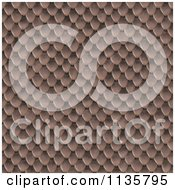 Clipart Of A Seamless Snake Skin Scales Texture Background Pattern Version 13 Royalty Free CGI Illustration
