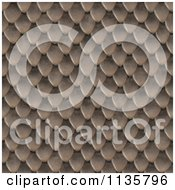 Clipart Of A Seamless Snake Skin Scales Texture Background Pattern Version 14 Royalty Free CGI Illustration