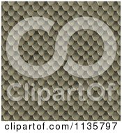 Clipart Of A Seamless Snake Skin Scales Texture Background Pattern Version 15 Royalty Free CGI Illustration