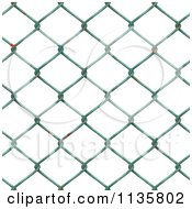 Clipart Of A Seamless Rusty Chain Link Fence Texture Background Pattern Version 2 Royalty Free CGI Illustration