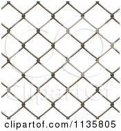 Clipart Of A Seamless Rusty Chain Link Fence Texture Background Pattern Version 5 Royalty Free CGI Illustration