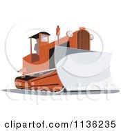 Retro Bulldozer Machine 2