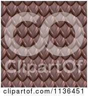 Clipart Of A 3d Seamless Scales Texture Background Pattern Version 4 Royalty Free CGI Illustration by Ralf61