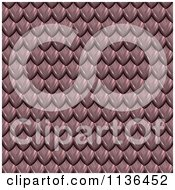 Clipart Of A 3d Seamless Scales Texture Background Pattern Version 5 Royalty Free CGI Illustration