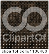 Clipart Of A Seamless Studded Skin Scales Texture Background Pattern Version 4 Royalty Free CGI Illustration by Ralf61