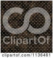 Clipart Of A Seamless Studded Skin Scales Texture Background Pattern Version 5 Royalty Free CGI Illustration