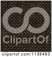 Clipart Of A Seamless Studded Skin Scales Texture Background Pattern Version 7 Royalty Free CGI Illustration