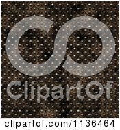 Clipart Of A Seamless Studded Skin Scales Texture Background Pattern Version 8 Royalty Free CGI Illustration